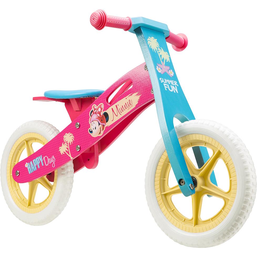 Bicicleta din lemn fara pedale 12 Minnie Seven SV9909