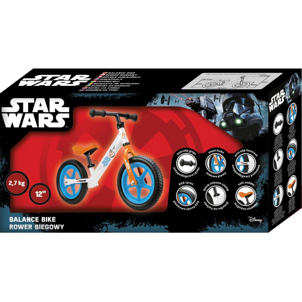 Bicicleta fara pedale 12 Star Wars Seven SV9905