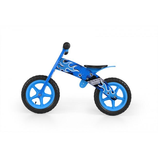 Bicicleta fara pedale Flip Blue