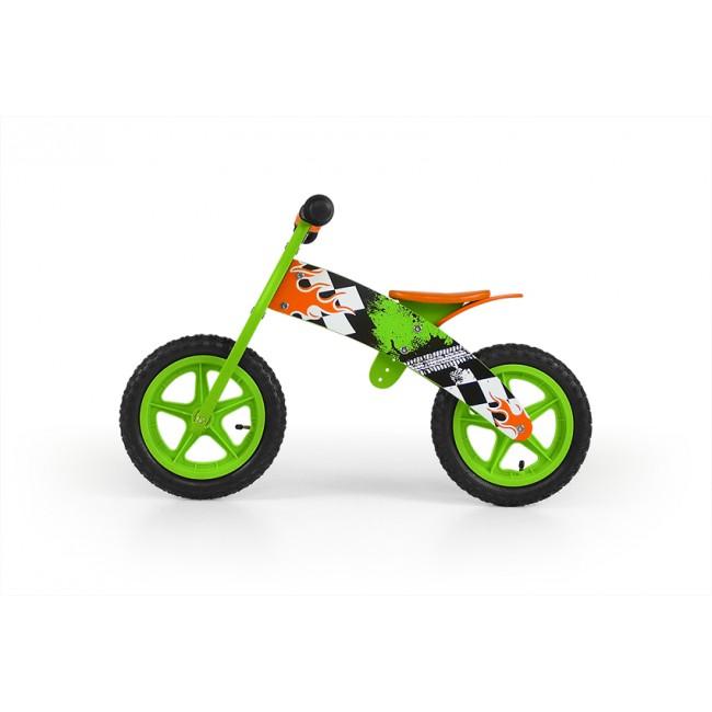 Bicicleta fara pedale Flip Green