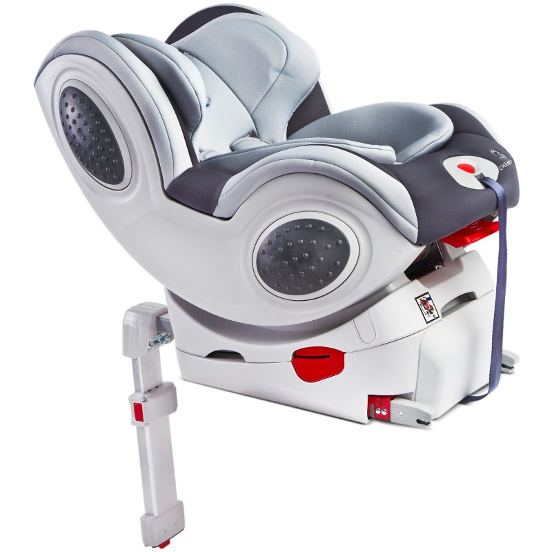 Scaun auto Caretero Champion isofix 0-18 kg grey