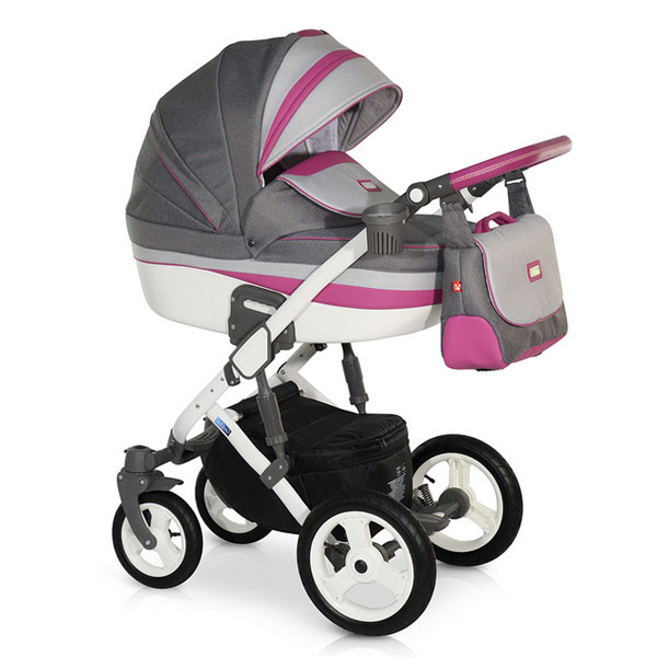 Carucior 3 in 1 Zen Pink Grey
