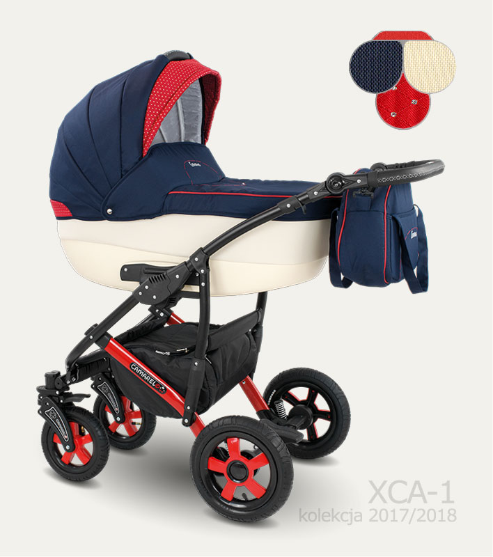 Carucior copii 2 in 1 Carera 2017 Camarelo color XCA-1
