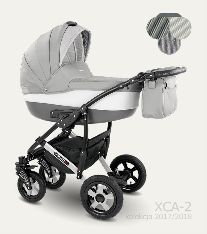 Carucior copii 2 in 1 Carera 2017 Camarelo color XCA-2