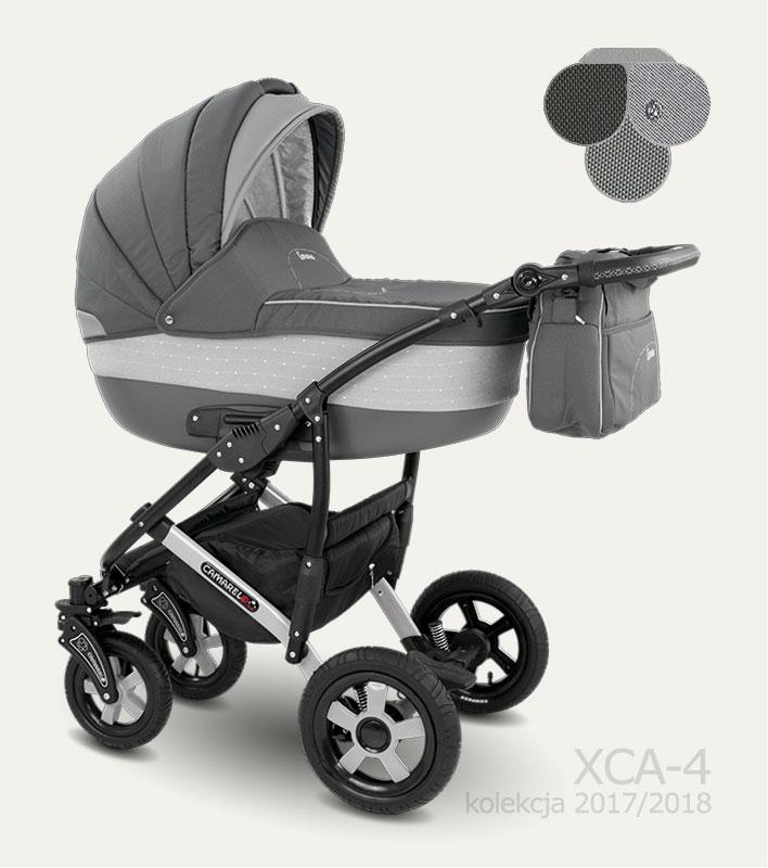 Carucior copii 2 in 1 Carera 2017 Camarelo color XCA-4