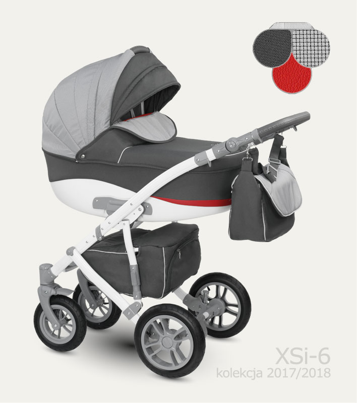 Carucior copii 2 in 1 Sirion Camarelo color XSi-6