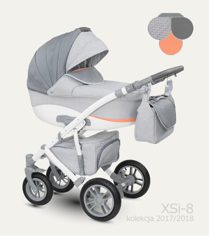 Carucior copii 2 in 1 Sirion Camarelo color XSi-8