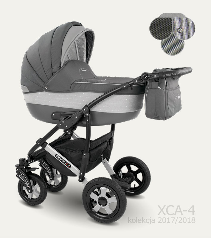Carucior copii 3 in 1 Carera 2017 Camarelo color XCA-4