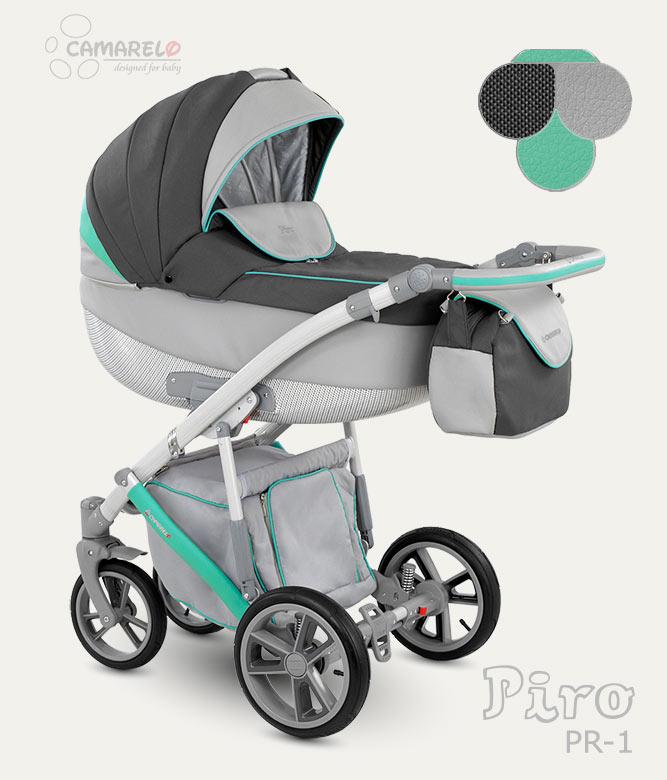 Carucior Copii 3 In 1 Piro 2017 Camarelo Color Pr-1