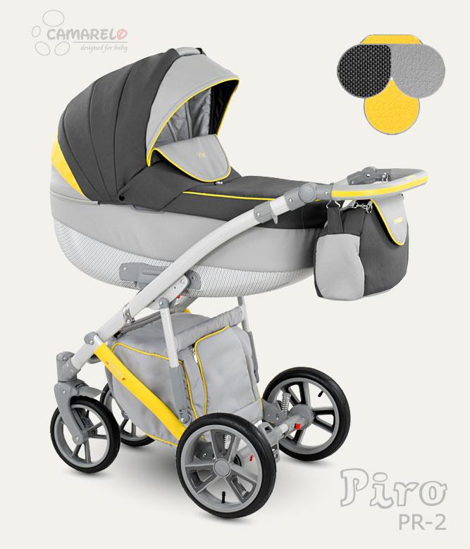Carucior copii 3 in 1 Piro 2017 Camarelo color PR-2