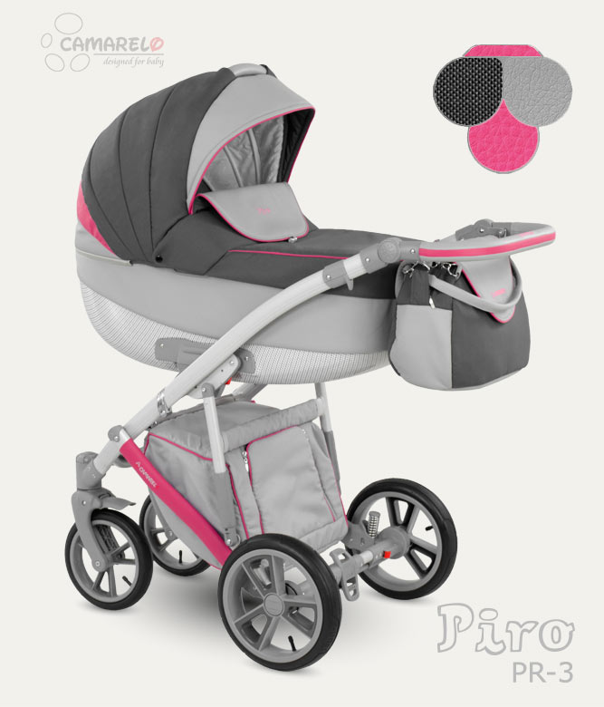Carucior copii 3 in 1 Piro 2017 Camarelo color PR-3
