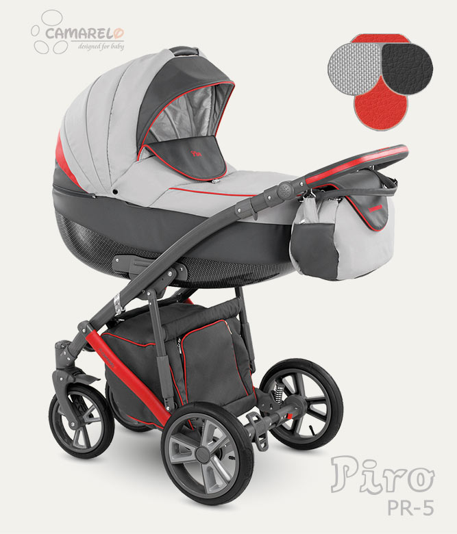 Carucior copii 3 in 1 Piro 2017 Camarelo color PR-5