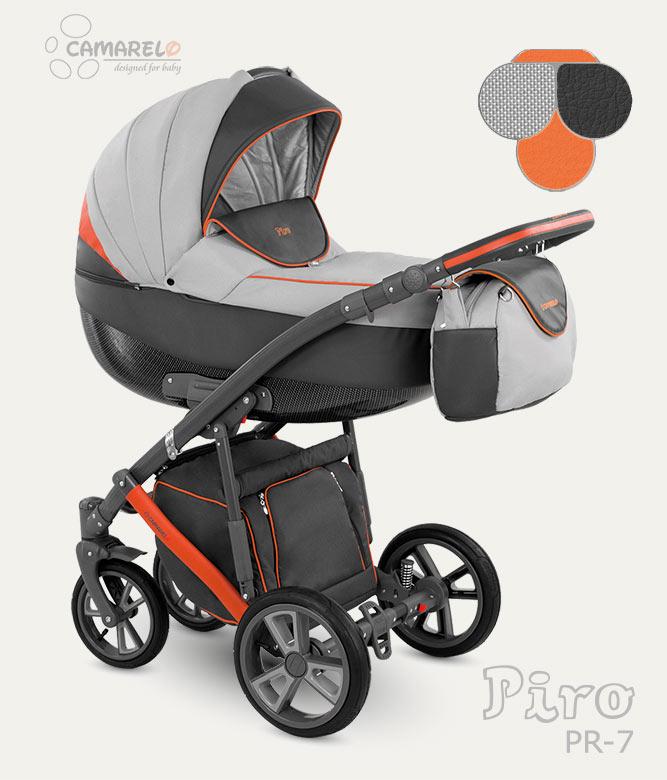 Carucior copii 3 in 1 Piro 2017 Camarelo color PR-7