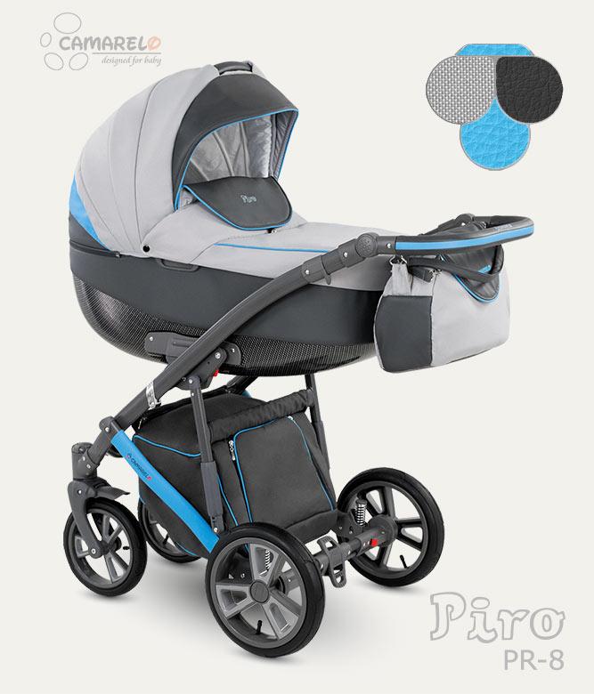 Carucior copii 3 in 1 Piro 2017 Camarelo color PR-8