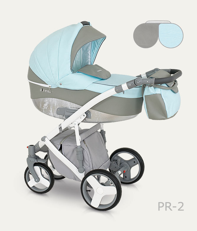 Carucior copii 3 in 1 Pireus Camarelo color PR-2