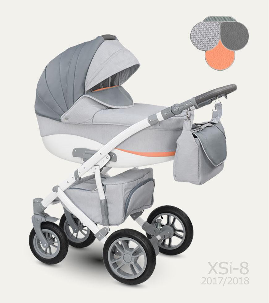 Carucior copii 3 in 1 Sirion Camarelo color XSi-8