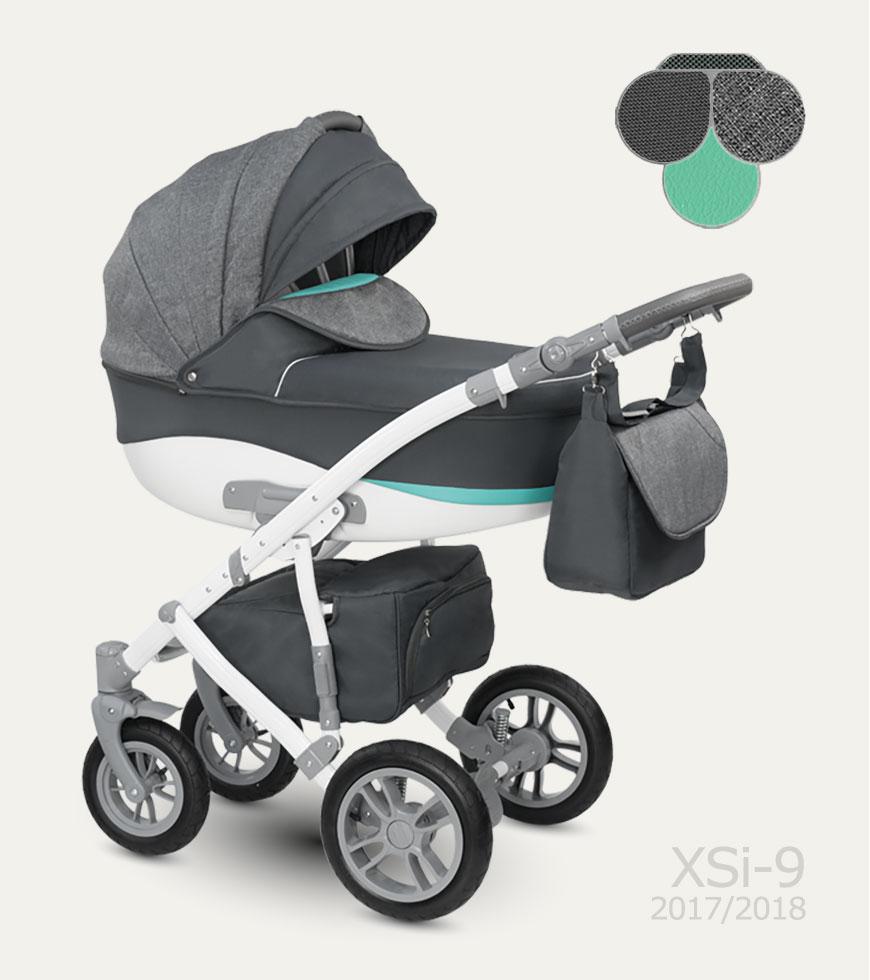 Carucior copii 3 in 1 Sirion Camarelo color XSi-9