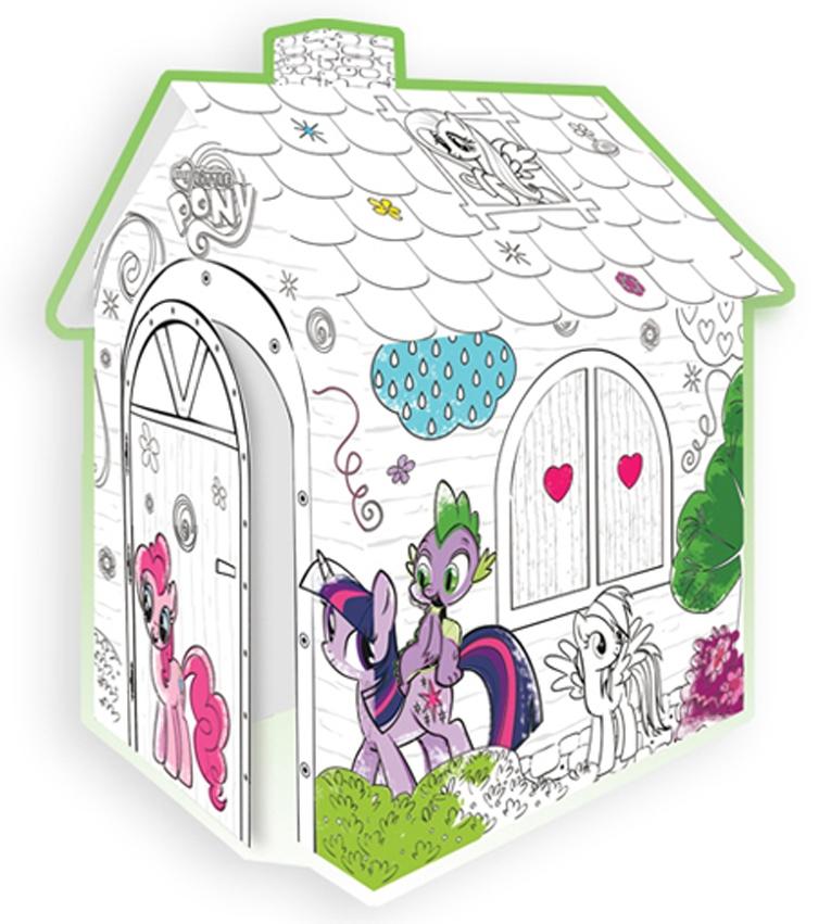 Coloreaza-ti Casuta My Little Pony
