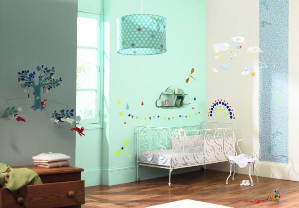 Decoratie mobila camera copil cerul senin Djeco