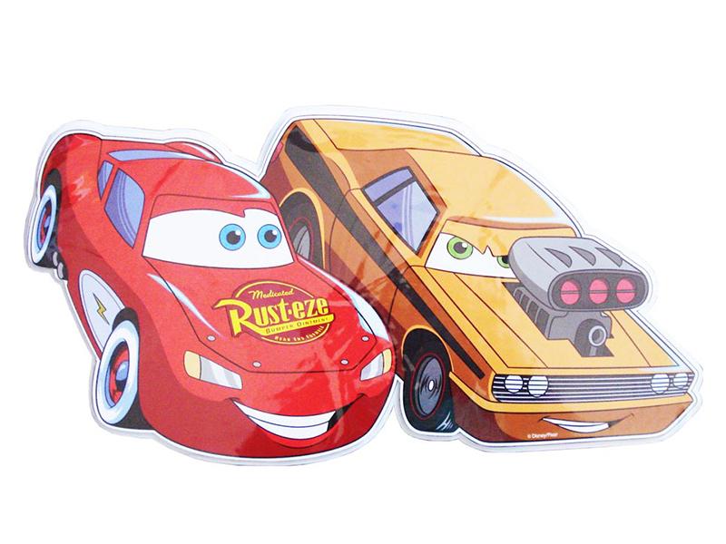 Decoratiune din burete pentru camera copii Cars SRCR-102