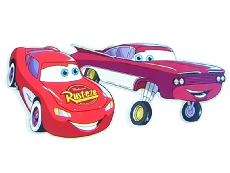 Decoratiune pentru camera copii Cars Lightning SRCR-002