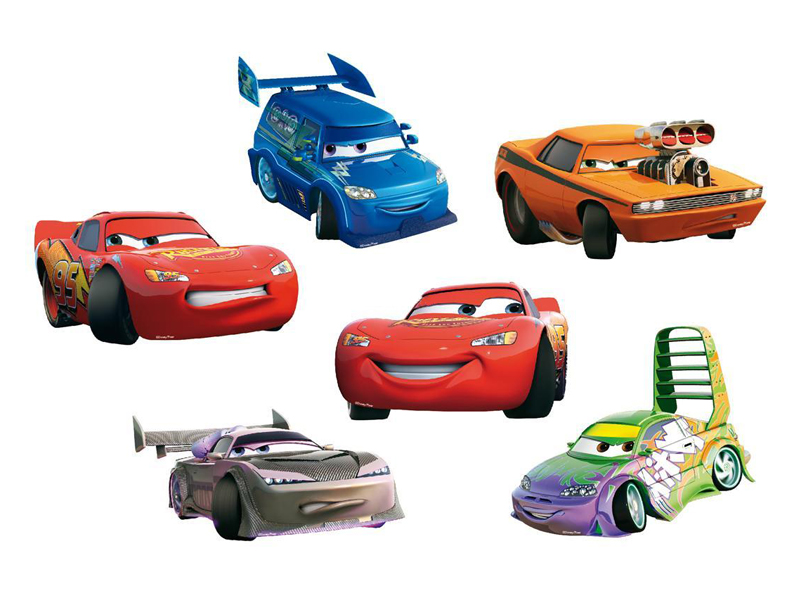 Decoratiune pentru camera copii Cars SRCR-14001