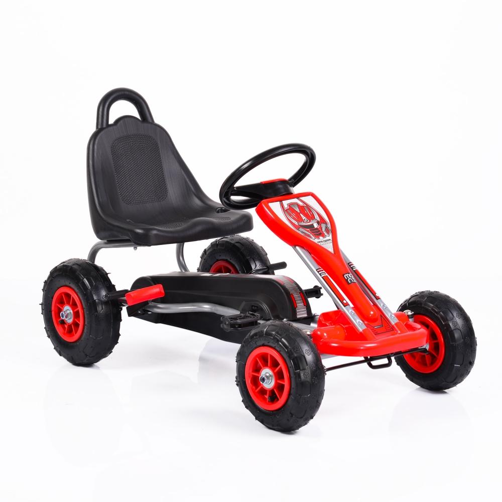 Kart cu pedale pentru copii Falcon Red