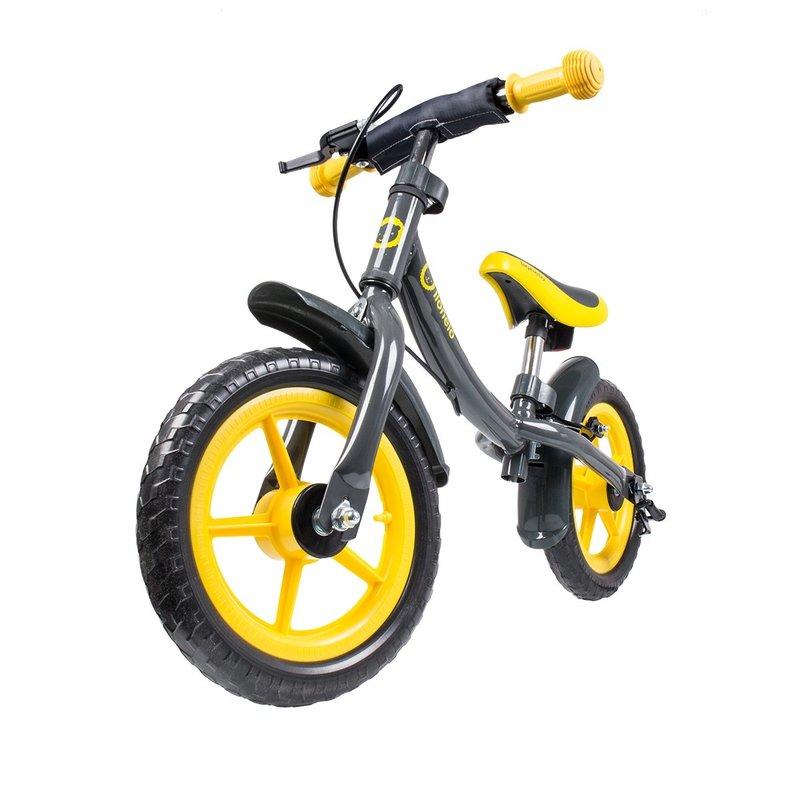 Bicicleta fara pedale Dan Plus Yellow