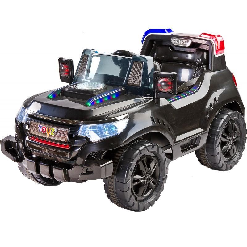 Masinuta Electrica Toyz Patrol 2x6v Cu Telecomanda Black