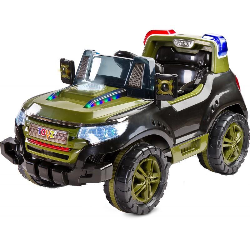 Masinuta Electrica Toyz Patrol 2x6v Cu Telecomanda Khaki