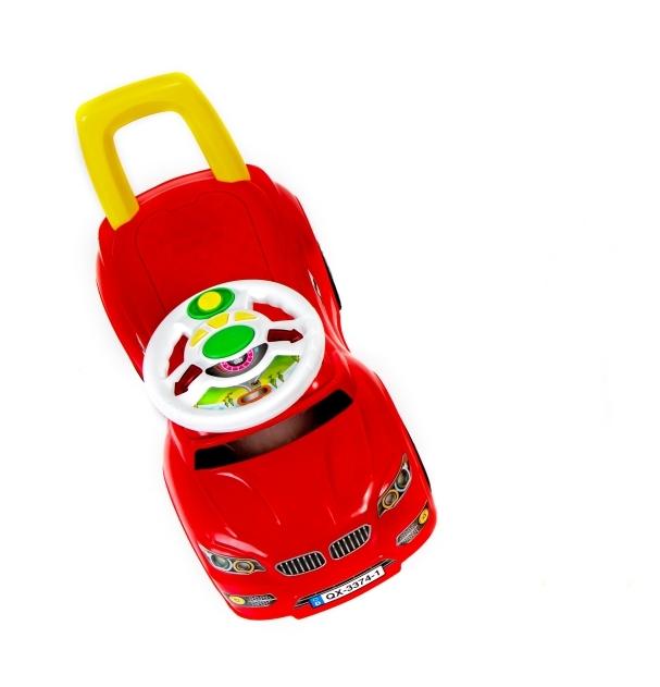 Masinuta fara pedale Lightning Red