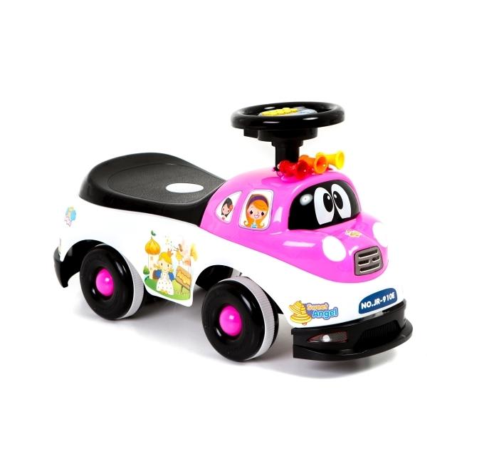 Masinuta fara pedale Police Pink