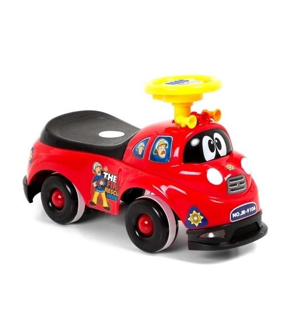 Masinuta fara pedale Police Red