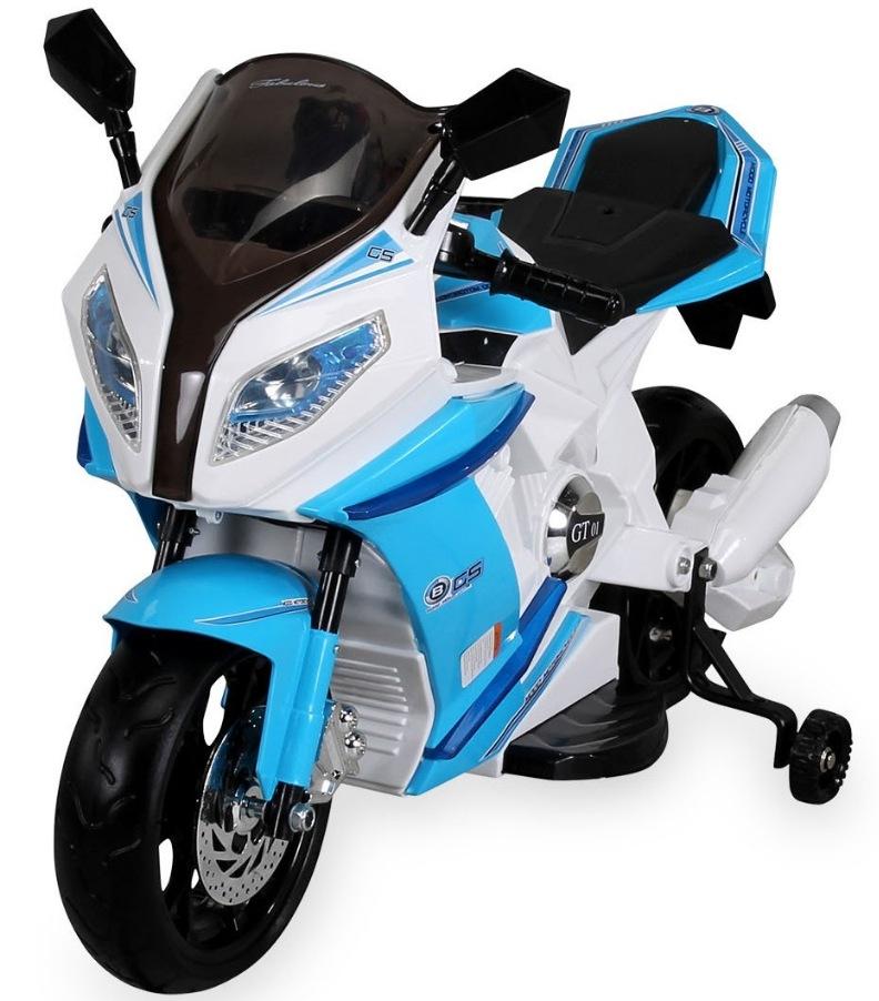 Motocicleta electrica Mood Moto White Blue