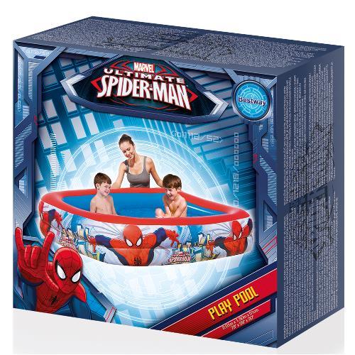 Piscina cu 2 inele SpiderMan