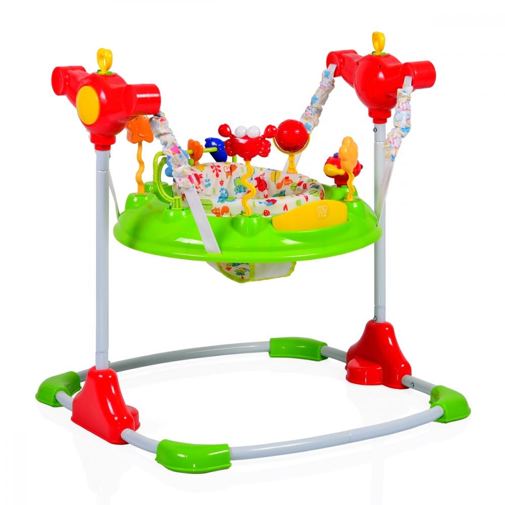 Saritor ajustabil pentru copii Jumper Vista Green