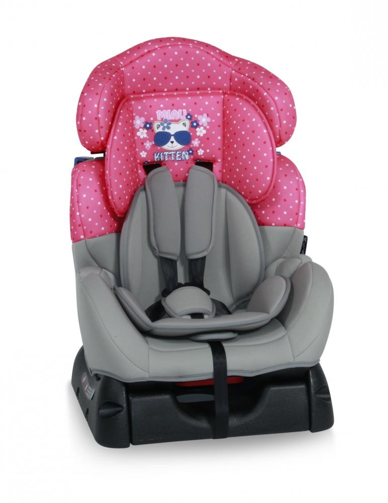 Scaun auto 0-25 Kg Safeguard Pink Kitty