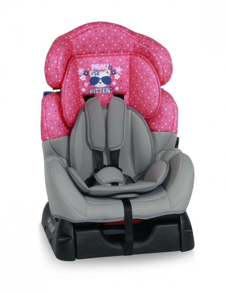 Scaun auto 0-25 Kg Safeguard Pink Kitty