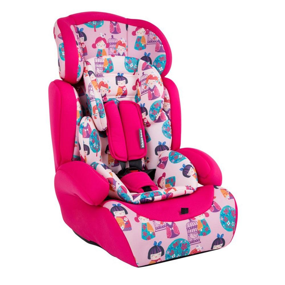 Scaun auto 9-36 kg Groove Pink Dolls