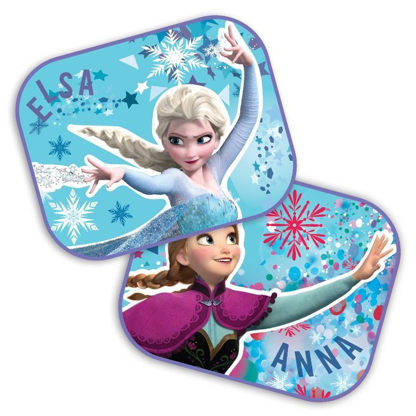 Set 2 parasolare auto Anna si Elsa Frozen SEV9312