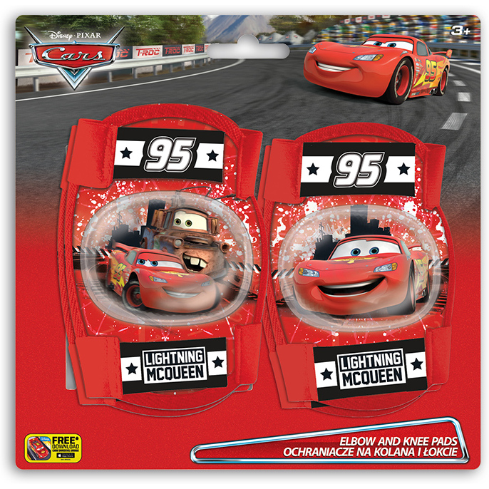 Set protectie Cotiere Genunchiere Cars Seven SV9006