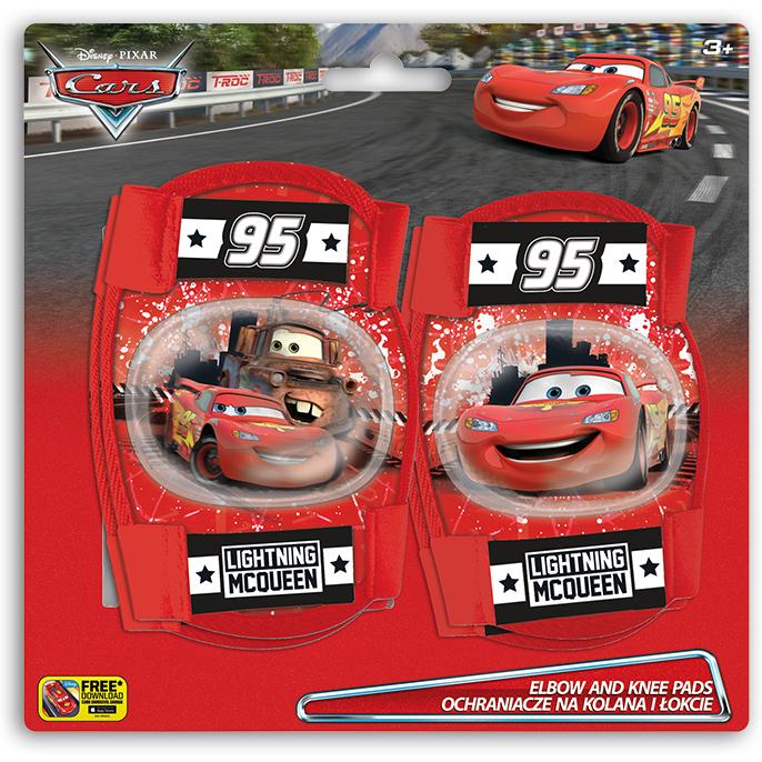 Set protectie Cotiere Genunchiere Cars Seven SV9006 imagine