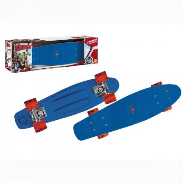 Skateboard Pennyboard copii Mondo 57 cm licenta Avengers imagine