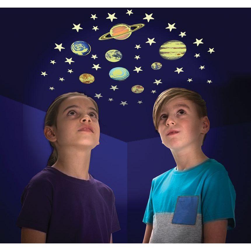 Stele si planete fosforescente The Original Glowstars Company B8623