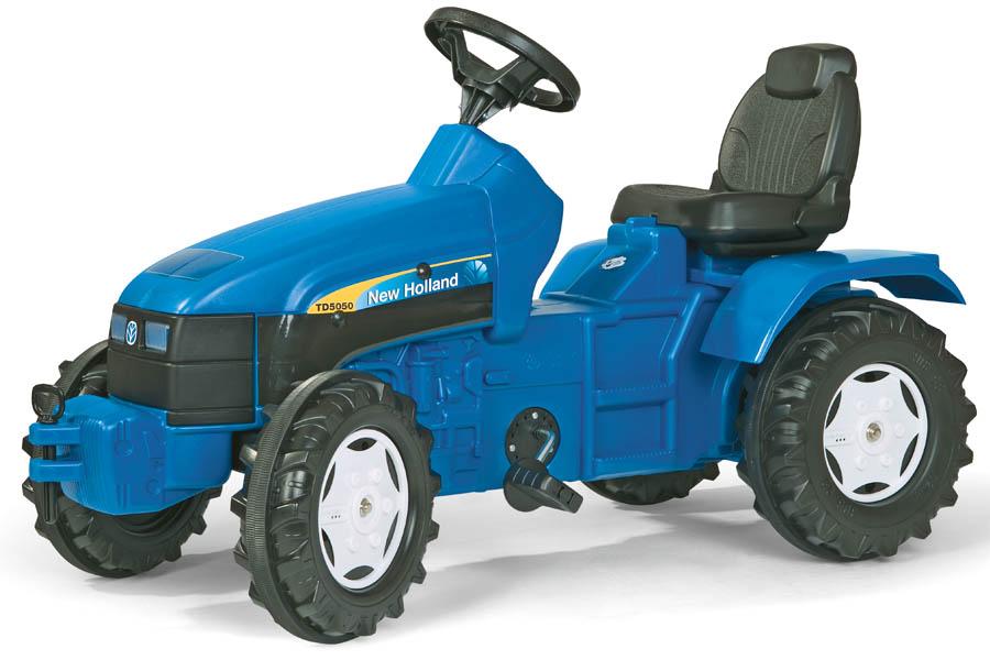 Tractor cu pedale copii Rolly Toys 036219 albastru imagine