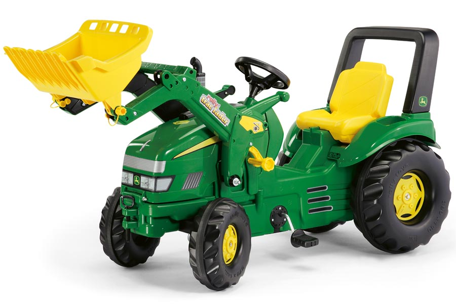 Tractor cu pedale copii Rolly Toys 046638 verde imagine