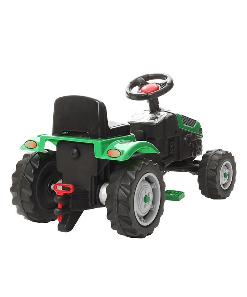Tractor cu pedale pentru copii Pilsan Green
