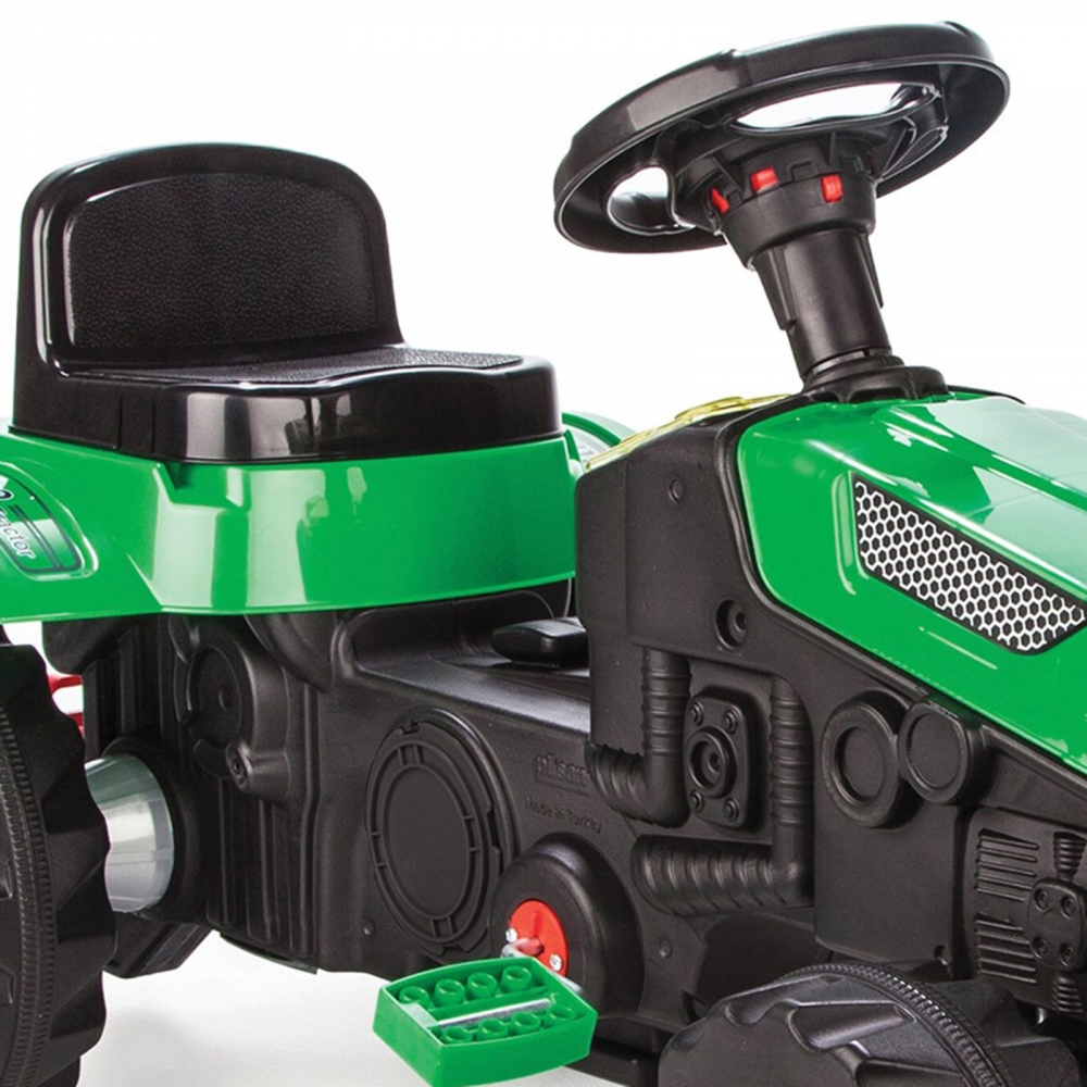Tractor cu pedale pentru copii Active Green - 1
