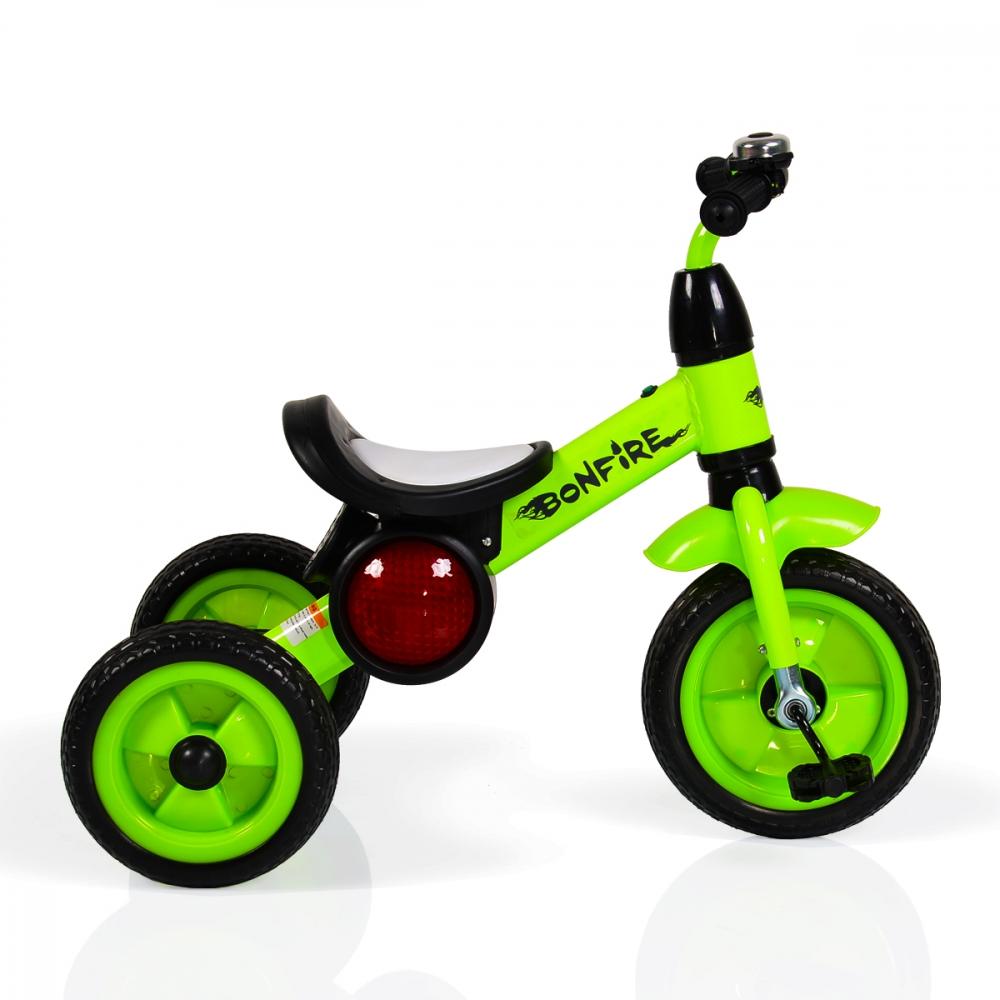 Tricicleta cu roti din cauciuc Byox Bonfire Green imagine