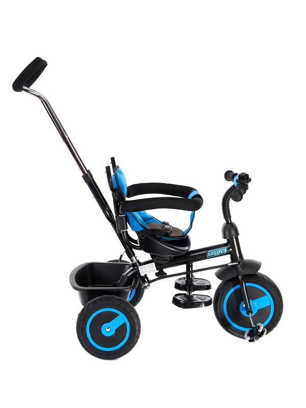 Tricicleta pentru copii 3 in 1 Arrow Blue